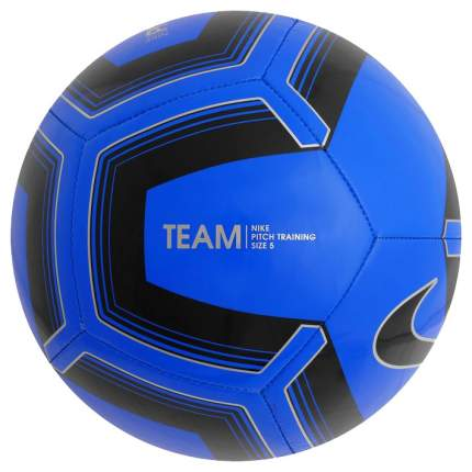Футбольный мяч Nike Pitch Training №5 blue