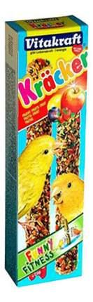 Лакомства для птиц Vitakraft, крекеры фруктовые для канареек, 2шт