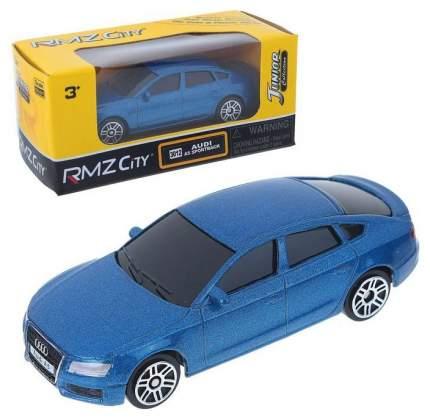Машина металлическая RMZ City 1:64 AUDI A5, Цвет Синий