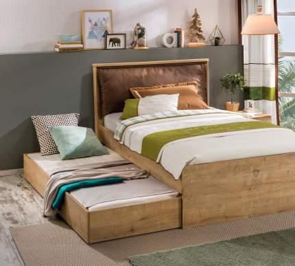 Кровать выдвижная Cilek Mocha 90х190 см, коричневый