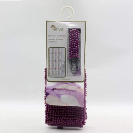 Шторы для ванной Arya Delphia Цвет: Фиолетовый