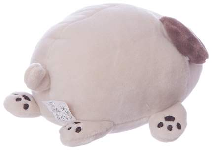Мопс светло-коричневый, 13 см игрушка мягкая