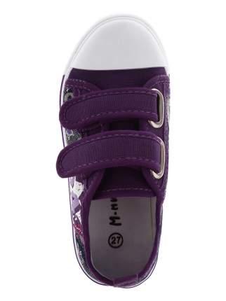 Кеды М.МИЧИ Star, цвет: фиолетовый, размер: 25