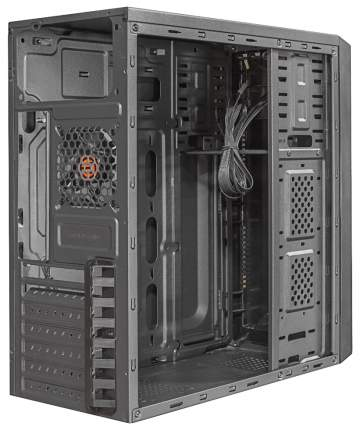 Компьютерный корпус Ginzzu C180 без БП black