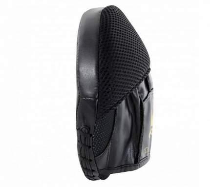 Лапы Adidas Disk Punch Mitts черно-золотые