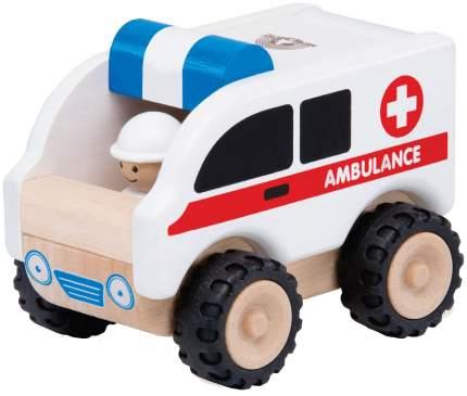Деревянная игрушка Wonderworld Скорая помощь WW-4062