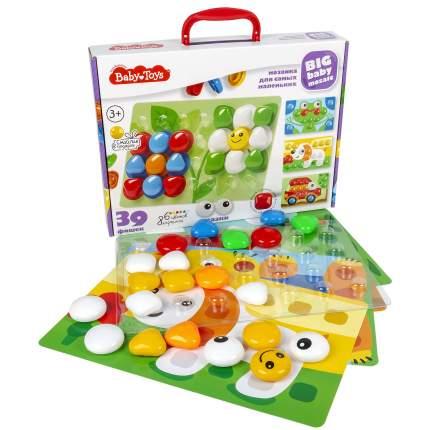 Baby Toys Мозаика для самых маленьких, 39 элементов