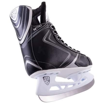 Коньки хоккейные KHL Nitro черные, 36