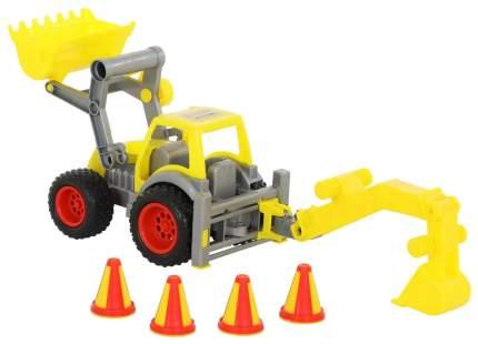 КонсТрак трактор-погрузчик Wader с ковшом