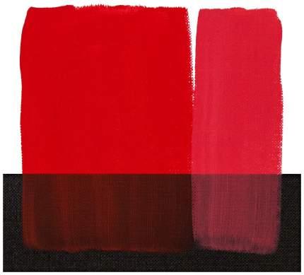 Акриловая краска Maimeri Acrilico M0924266 красный прозрачный 200 мл