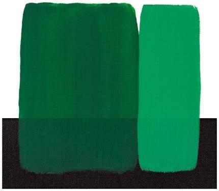 Акриловая краска Maimeri Acrilico зеленый изумрудный 500 мл