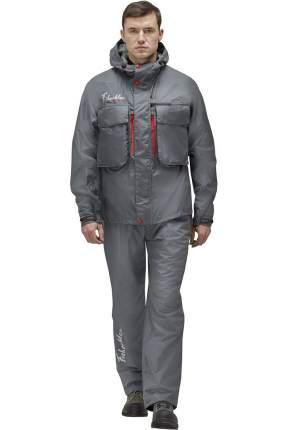 Куртка для рыбалки Nova Tour Fisherman Коаст V2, темно-серая, XS INT, 170 см