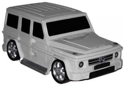 Детский чемодан Mercedes-Benz Gelandewagen 50х25х21см. Белый 2 кг