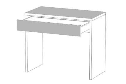 Письменный стол Hoff 80306515, белый