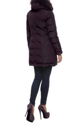 Пуховик женский Conso WLF170556 фиолетовый 48 RU