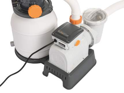 Bestway, Песочный фильтр-насос 5678 л/ч , резервуар для песка 9 кг, 58497 BW