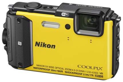 Фотоаппарат цифровой компактный Nikon Coolpix AW130 Yellow
