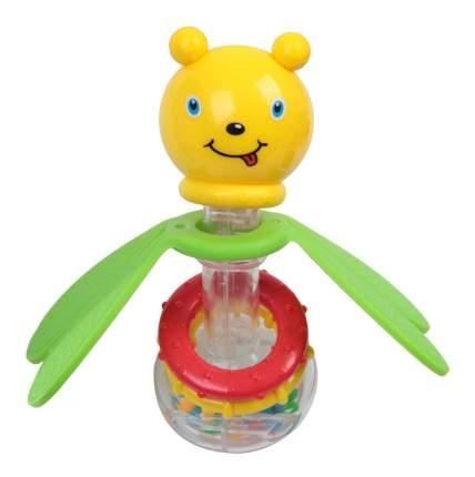 Погремушка пластиковая, пчелка с прорезывателем Bondibon 21х15 см