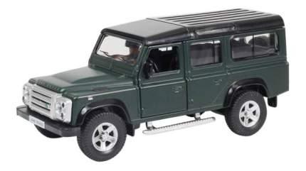 Машина Uni-Fortune 1:32 Land Rover Defender инерционная темно-зеленый матовый