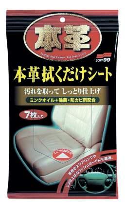 Салфетка автомобильная Soft99 Leather Cleaning Wipe (2059)