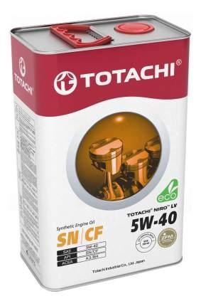 Моторное масло TOTACHI NIRO LV Synthetic SN/CF 5W-40 3,47 кг/4л