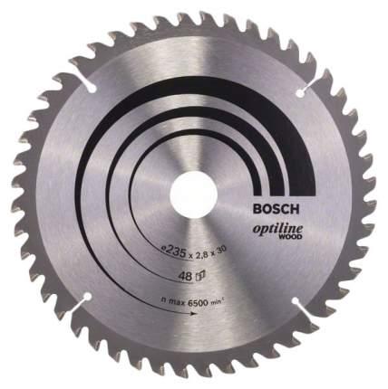 Диск пильный Bosch 235х30мм 2608640727