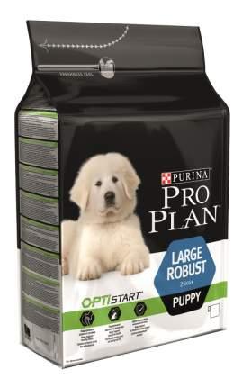 Сухой корм для щенков PRO PLAN OptiStart Large Robust Puppy, крупные породы, курица, 12кг