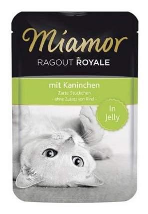 Влажный корм для кошек Miamor Королевское рагу, кролик в желе, 100г