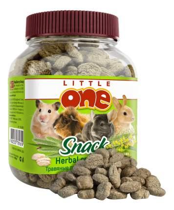 Лакомство для грызунов Little One Травяные подушечки, 100г