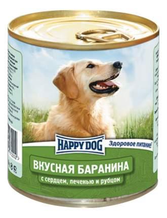 Консервы для собак Happy Dog, вкусная баранина, 12шт, 750г