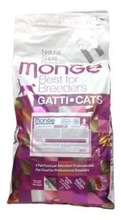 Сухой корм для кошек Monge Indoor, для домашних, курица, 10кг