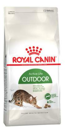 Сухой корм для кошек ROYAL CANIN Active Life Outdoor, для активных кошек, 2кг