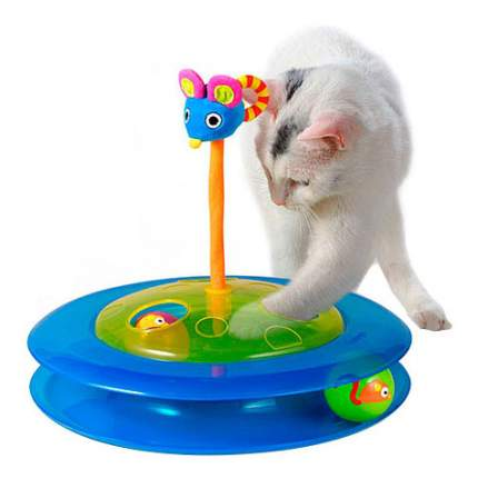 Трек для кошек Petstages, пластик, текстиль, 30.5x8.9x31.8см