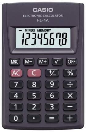Калькулятор Casio HL-4A Черный