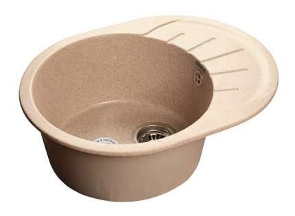 Мойка для кухни из мрамора GranFest Rondo GF-R580L песочный