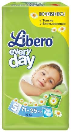 Подгузники Libero Every Day 5 (11-25 кг), 16 шт.