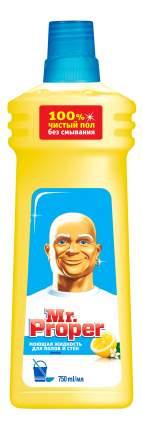Универсальное чистящее средство для мытья полов Mr. Proper лимон 750 мл