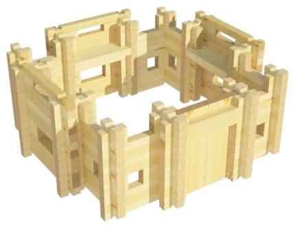 Конструктор деревянный Лесовичок Крепость №1 les 017