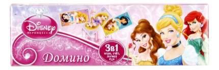 Семейная настольная игра Умка Домино Принцессы