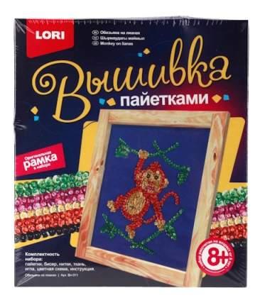 Вышивка для детей Lori Обезьяна на лианах