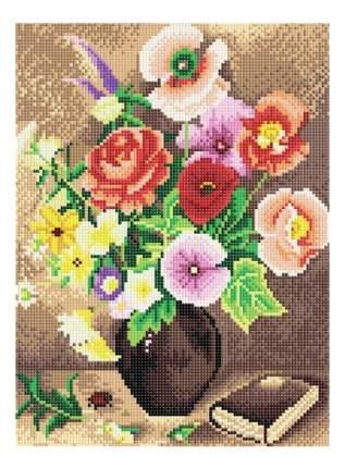 Мозаика на подрамнике Белоснежка Натюрморт с букетом