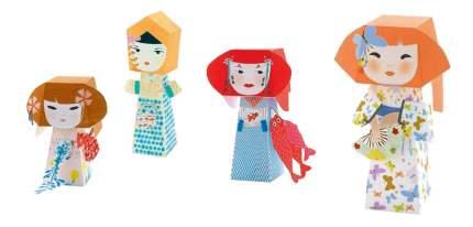 Оригами Djeco Куклы Кокэси