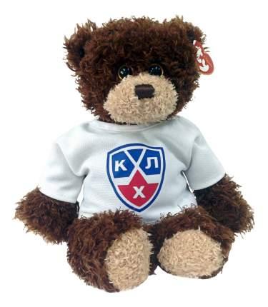 Мягкая игрушка TY КХЛ, Медвежонок-хоккеист в футболке, 25 см