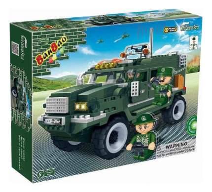 Конструктор пластиковый BanBao Военный джип