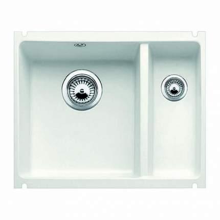 Мойка для кухни керамическая Blanco SUBLINE 350/150-U 514529 глянцевый белый