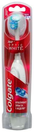 Зубная щетка Colgate 360° Optic White, электрическая средней жесткости