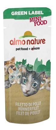 Куриное филе для кошек Almo Nature Green Label, цыпленок, рис, 0,003кг