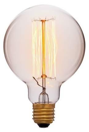 Лампа накаливания E27 40W шар золотой 051-996