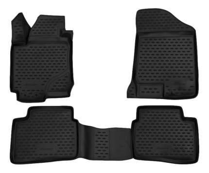 Комплект ковриков в салон автомобиля Autofamily для KIA (NLC.3D.25.20.210h)