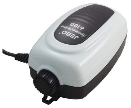 Компрессор для аквариума Jebo 6100 одноканальный, 3 л/мин